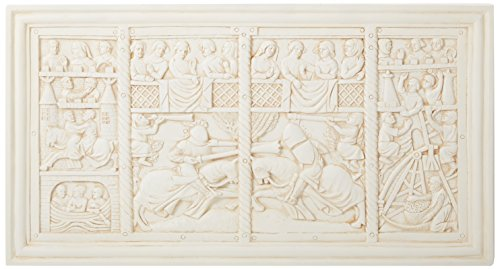 Wall Frieze (Design Toscano The Medieval Joust Sculptural Wall Frieze)