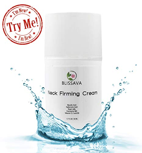 Turkey Neck Cream for Crepey Skin - Neck Firming Cream for Double Chin and Sagging Skin - Anti Aging Skin Tightening Cream for Face Neck and Decollete for Men and Women