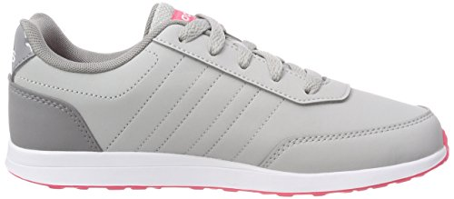 adidas Vs Switch 2 K, Zapatillas de Gimnasia Unisex Niños Gris (GREY TWO F17/REAL PINK S18/GREY THREE F17)