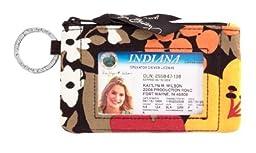 Gorgeous Vera Bradley Zip ID Case in Bittersweet