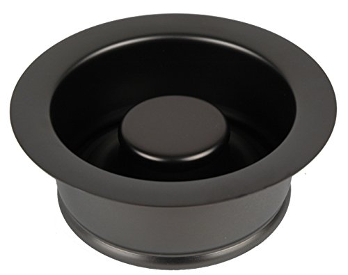 ISE Garbage Disposal Flange Drain Solid Brass with Stopper (Oil Rubbed Bronze)