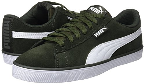 Puma Urban Sd Vertes forest Adultes White Unisexes Night 07 Plus puma Baskets ggq7wFAr