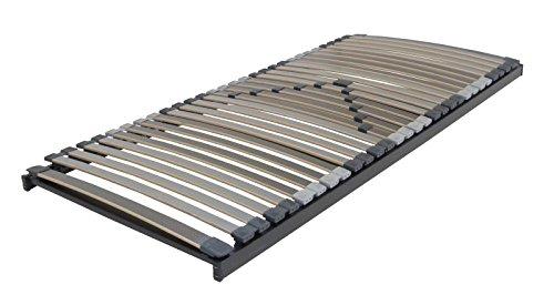 XXL Lattenrost Perbix 200 kg - Rahmen starr, 140x200 cm