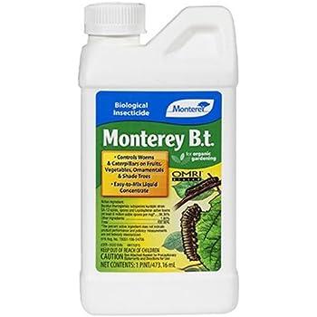 Monterey 704596  Caterpillar Killer Pesticide, 1-Pint