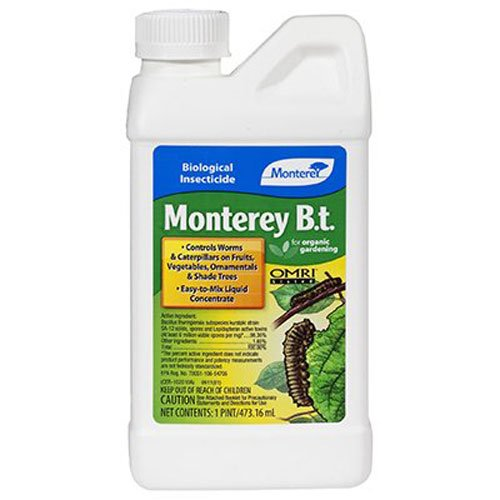 Monterey Lawn and Garden LG6344 Monterey B.t. Biological Insecticide