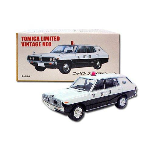 1/64 ニッサン スカイライン バン パトロールカー(ホワイト×ブラック) 「トミカリミテッドヴィンテージNEO」 トミカショップオリジナル 232438