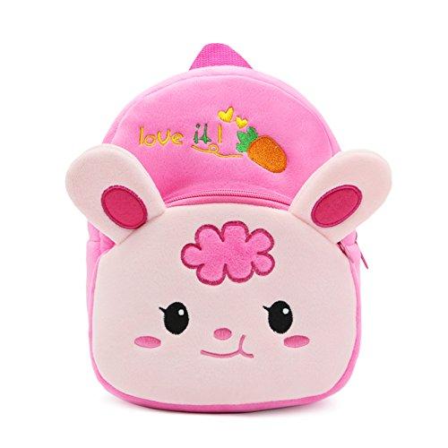 Baby Rabbit Cute - M2cbridge Cute Toddler Backpack Baby Plush Small School Shoulder Bag (Rabbit)