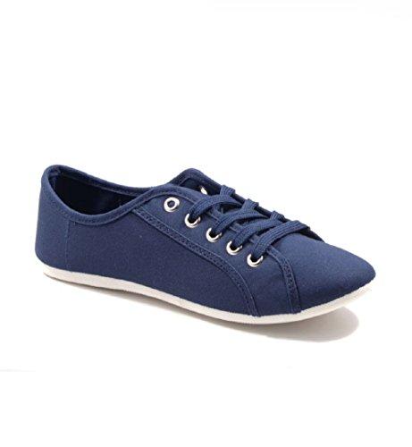 SexY Jumex Damen Sneaker Freizeitschuhe Turnschuhe Stiefel Ballerina Viele Modelle 3VYX-7024 DK.BLUE