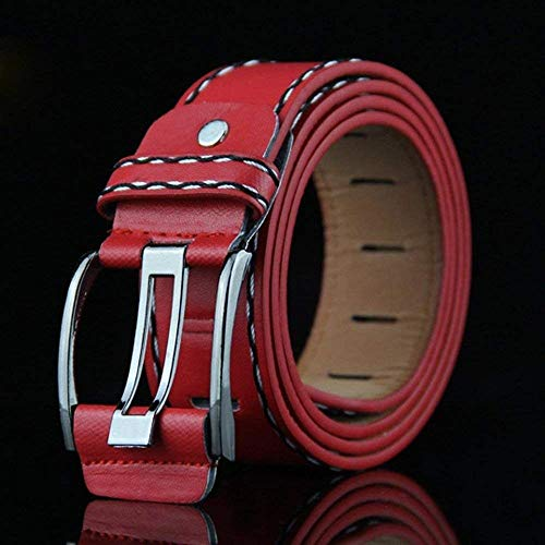 Rot Stile Liscia Casual Jeans In Semplice Da Borsa Pantaloni Uomo Pelle Moda Cintura PAxq7cgZP