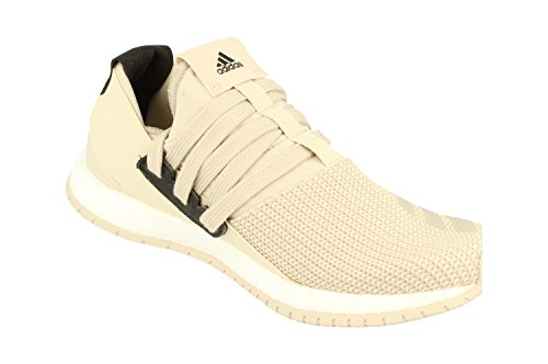 Adidas Pureboost Rm Unisex Kör Utbildare Sneakers Mörk Sand Vit Bb0812