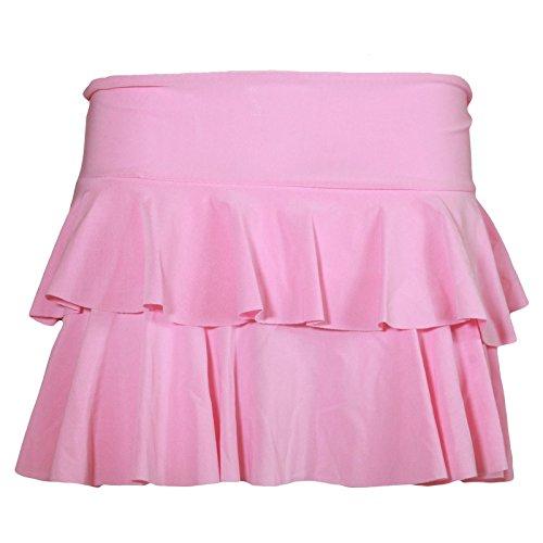Janisramone Mini Jupe Femme Simple et Rose Courte Jupe Bb lgante ''Rara'' Nouveau 4XrwX