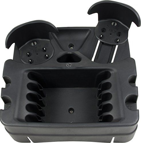 black mini console car truck vehicle adjustable lock drink holder storage ebay. Black Bedroom Furniture Sets. Home Design Ideas