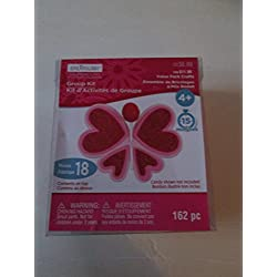 Childrens Valentine lollypop holder felt kit