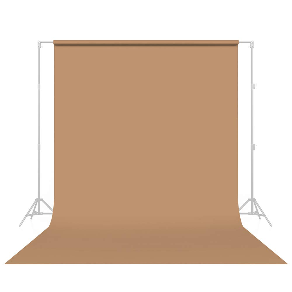 Savage Seamless Paper Photography Backdrop - #76 Mocha (107 in x 36 ft) Made in USA