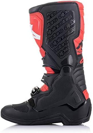 Alpinestars Unisex-Adult Tech 5 Boots Black//Red Sz 12 Multi, one/_size