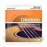 D'Addario EJ26-10PQS Phosphor Bronze Acoustic