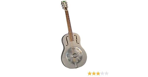 Regal RC-43 Resophonic trioliano de guitarra con cuerpo metálico ...
