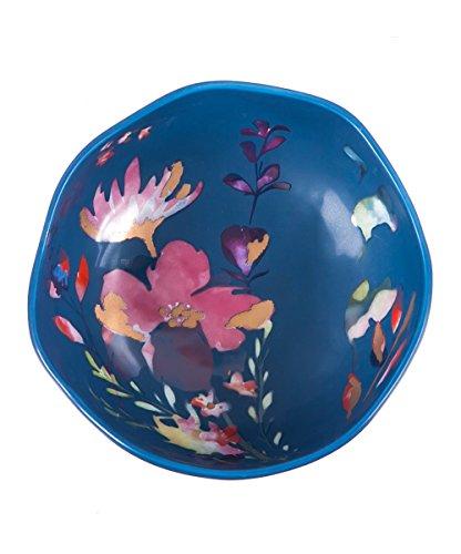 Evergreen Dinnerware Collection - Evergreen Ceramic Bowl Watercolor BOHO