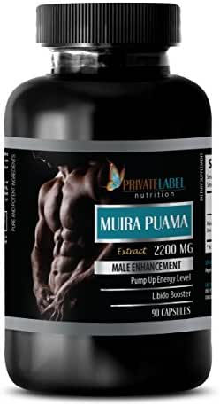 pills for men - MUIRA PUAMA EXTRACT 2200Mg - MALE ENHANCEMENT - brain and memory supplements - 1 Bottle (90 Capsules)