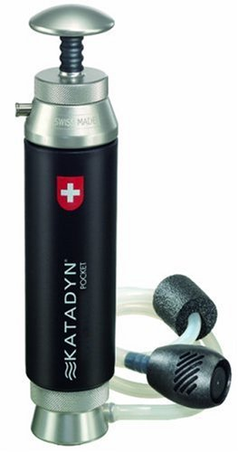 Katadyn Water Microfiltration - For Backpacking, hiking, camping, or emergency water purification, Purify up to 13,000 gallons