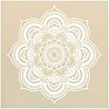MiniPoco Mandala Flower Indian Vinyl Decal Art Stickers Wall Mural Home Bedroom Family Decoration (E)