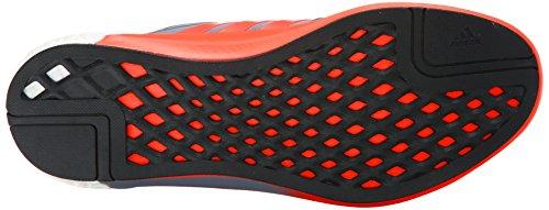 adidas Performance Herren Solar Boost M Laufschuh Grau / Solar Rot / Schwarz