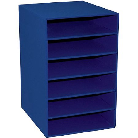 Classroom Keepers 6-Shelf Organizer Blue WLM