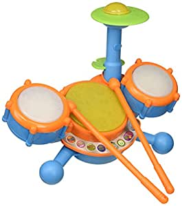 vtech kidibeats drum set frustration free packaging toys games. Black Bedroom Furniture Sets. Home Design Ideas