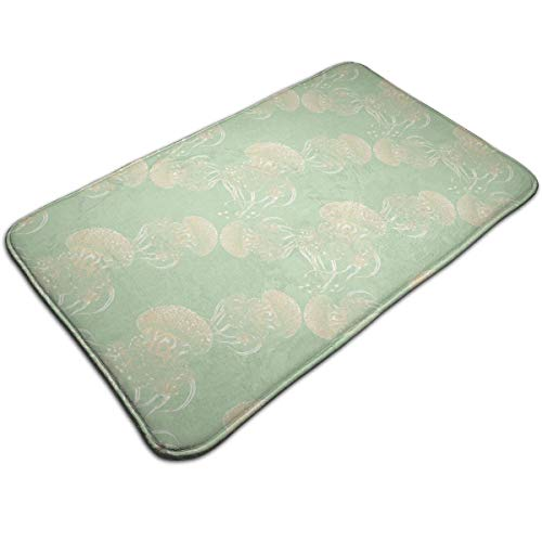 - DIDIDI Deep Sea Jelly Throw Area Ground Mat Restroom Kitchen Bathroom Accent Floor Party Carpet Outside Door Set Decor Welcome Entryway Rug Sign Celebrate Decorations Ornament