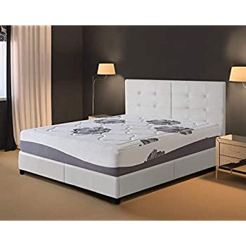 Amazon Com Olee Sleep 12 In Noblesse Memory Foam Mattress