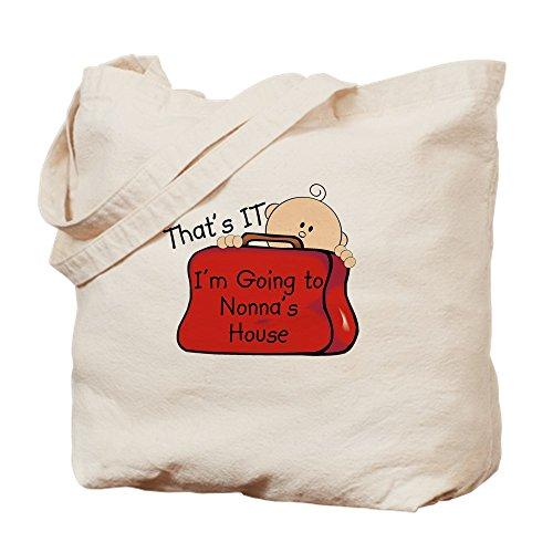CafePress–Va a Funny de la Nonna–Gamuza de bolsa de lona bolsa, bolsa de la compra Small caqui