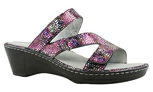 Alegria Womens Loti Wedge Sandal, Funtastic, Size 37 EU (7-7.5 M US Women)