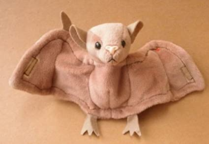 88979cc4f5d Image Unavailable. Image not available for. Color  TY Beanie Babies Batty  the Bat Plush Toy Stuffed Animal