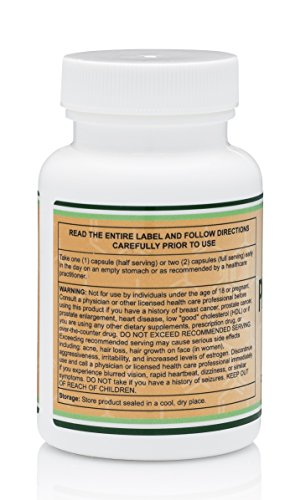 Pregnenolone Third Party Tested 120 Capsules Made in The USA 100mg Per Serving by Double Wood Supplements