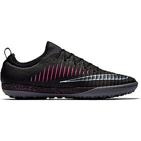 Nike MercurialX Finale TF Turf Soccer Shoe (Black, Pink Blast)