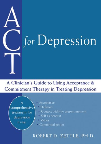 ACT Depression Clinicians Acceptance Commitment product image