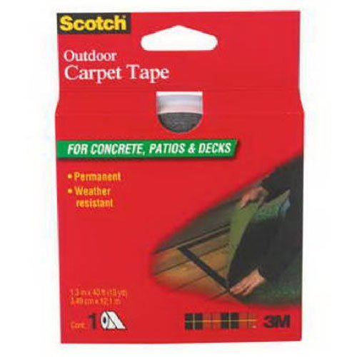 Cheap  3M (CT3010DC) Scotch Outdoor Carpet Tape CT3010, 1.375 in x 13.3 yd