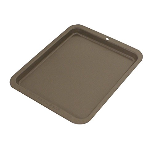Kitchen Cookware Non-Stick Toaster Oven Baking Sheet Cookie Cake Pan Safe Ideal (Open Toaster compare prices)