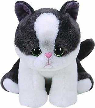 Ty Yang, Katze Schwarz/weiß 15cm Babies Peluche Gato, Color Blanco (United