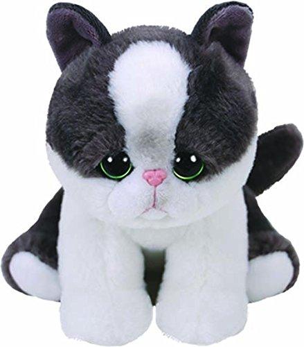 ec772765 Ty Beanie Babies YANG - Black/white Cat reg 6