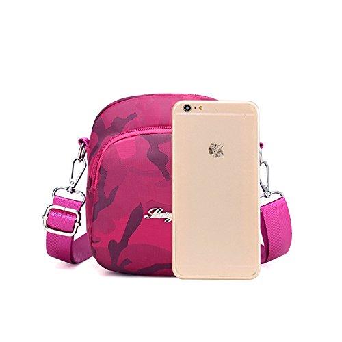 Handbag Tote Crossbody Travel Pouch Bag Black Shoulder Purse Casual Camo Bag Mini wBTECC