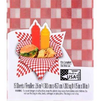Amazon.com  BBQ Party Picnic Bundle Paper Plates Napkins Red Deli Baskets u0026 Waxed Gingham Basket Liners (53 Piece Set)  Garden u0026 Outdoor  sc 1 st  Amazon.com & Amazon.com : BBQ Party Picnic Bundle: Paper Plates Napkins Red ...