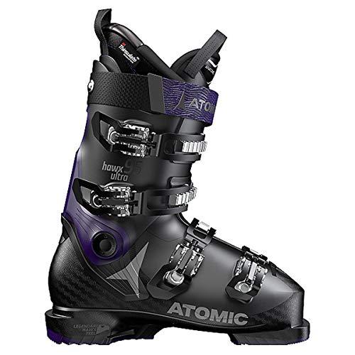 Atomic HAWX Ultra 95 Women's Ski Boots Black/Purple 24/24.5