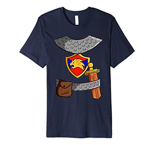 Knight Costume Kids Carnival DIY Last Minute Halloween Premium T-Shirt]()