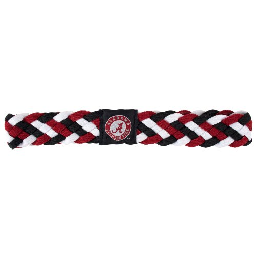 Littlearth 100414 BAMA Parent NCAA Braided Headband product image
