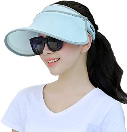 Suika Suika サンバイザー レディース レインハット レインバイザー 自転車 キャップ UVカット率99%以上サンバイザー UPF50+ 紫外線対策 日焼け対策 つば広 ワイド 帽子 360角度調整可能 男女兼用 【全新品】