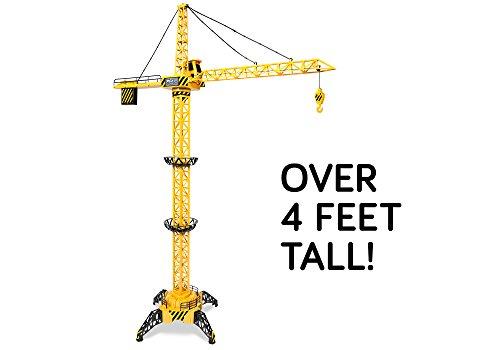 Big Kid's Construction 4FT Motorized Construction RC Crane