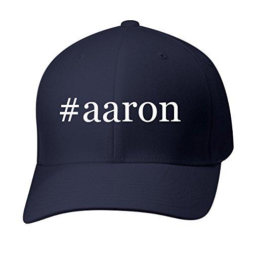 BH Cool Designs #Aaron - Baseball Hat Cap Adult, Dark Navy, Small/Medium
