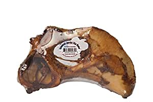 Best Buy Bones - USA Made Smoked Jumbo Hip Bone - Healthy Pet Chews for Dogs