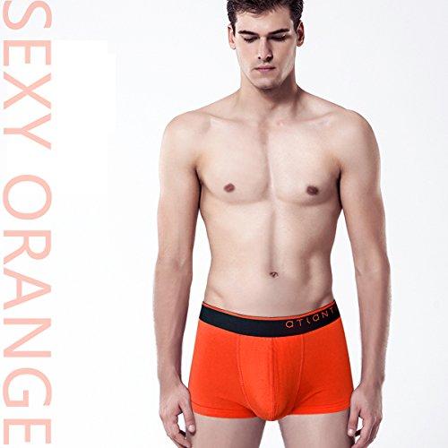 Boxershorts für Herren angenehme Unterwäsche aus Baumwolle Unterhosen für Männer 3er Pack